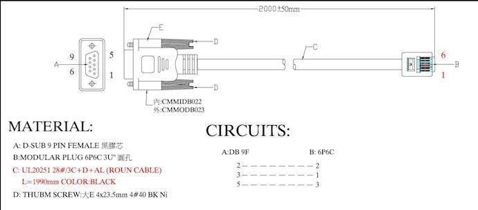 i need promise vessraid 1840i rj11 db9 cable 39 s specification. Black Bedroom Furniture Sets. Home Design Ideas